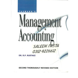 Management Accounting Dr R P Rustagi Taxmanns