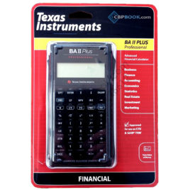 Texas Instruments Advanced Financial Calculator BA II Plus Professional