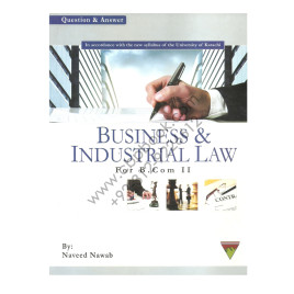 Business and Industrial Law for B.Com. Part 2 by Naveed Nawab Topline