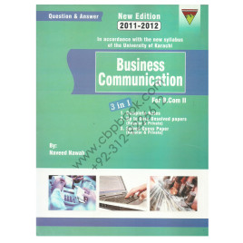 Business Communication for B.Com. Part 2 by Naveed Nawab Topline