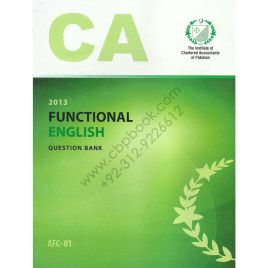 CA AFC 01 Functional English Question Bank ICAP