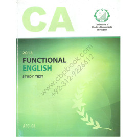 CA AFC 01 Functional English Study text ICAP
