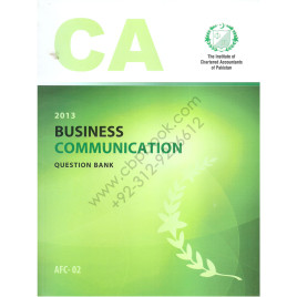 CA AFC 02 Business communication Question Bank ICAP
