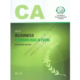 CA AFC 02 Business communication Revision Notes ICAP