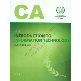 CA AFC 04 Introduction to Information Technology Question Bank ICAP