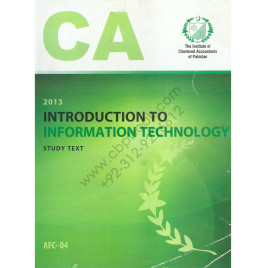 CA AFC 04 Introduction to Information Technology Study Text ICAP