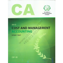 CA CAF 08 Cost and Management Accounting Study Text ICAP
