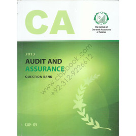 CA CAF 09 Audit and Assurance Question Bank ICAP