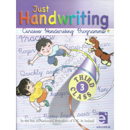 Just Handwriting Cursive Handwriting Programme 3rd Class