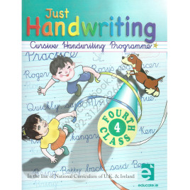 Just Handwriting Cursive Handwriting Programme 4th Class