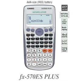 Casio Scientific Calculator Fx-570ES Plus Original