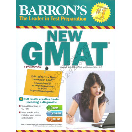 Barron's GMAT 17th Edition Eugene D. Jaffe & Stephen Hilbert with CD