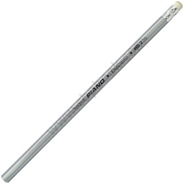 Sayyed Piano Executive Pencil Silver Lead with Eraser
