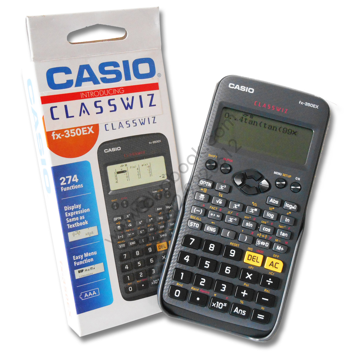 Casio scientific calculator fx 350ex classwiz original cbpbook casio scientific falaconquin