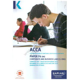 ACCA Paper F4 Eng Corporate & Business Law Complete Text 2015 2016 Kaplan