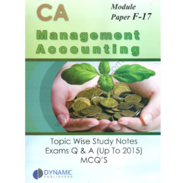 CA Module F17 MA Topic Wise Study Notes Exams Q & A Upto 2015 MCQs