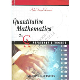Quantitative Mathematics Including Past Papers 3rd Edition By Abdul Samad Dawood