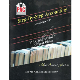 Step By Step Accounting Mastering Accounting & Finance Fourth Edition Ishfaq Publishing PAC