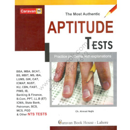 The Most Authentic APTITUDE TEST 2018 by Ch Ahmed Najib – CARAVAN BOOK