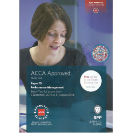 ACCA Paper F5 Performance Management Study Text 2015 2016 BPP