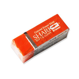 Shark Colored Eraser E548