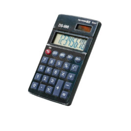 8 Digit Pocket Size Electronic Calculator DS-998