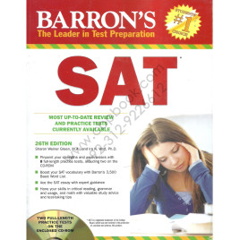 Barron's SAT 26th Edition with 2 Full-Length Practice Tests on CD-ROM