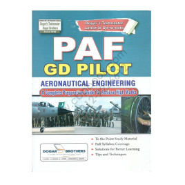 Test Preparation PAF GD PILOT Aeronautical Engineering by Dogars Testmaster