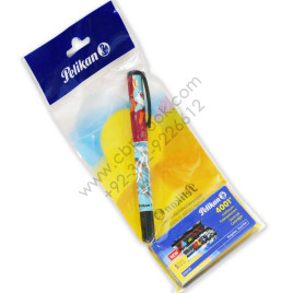 PELIKAN Pen with Pelikan 4001 Gient Ink Cartridges