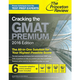 The Princeton Review Cracking The GMAT Premium 2016