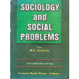 Sociology and Social Problems for B. A. students