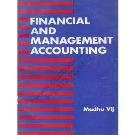 Financial And Management Accounting By Madhu Vij