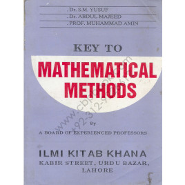 Key to Mathematical Methods By (A board of experienced professors)