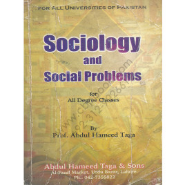 Sociology and Social Problems by Prof. Abdul Hameed Taga
