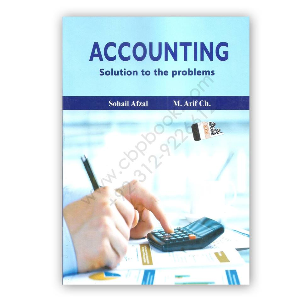 Accounting. M. Arif Sohail Afzal - Part - 1 PDF
