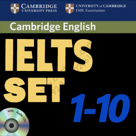 Cambridge English IELTS 1 – 10 with Answers and Audio CDs
