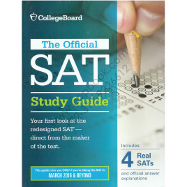 CollegeBoard The Official SAT Study Guide 2016