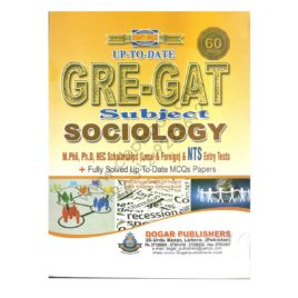 Dogar's Unique Up-To-Date GRE GAT Subject Sociology Dogar Publisher