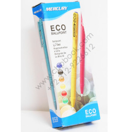 Mercury ECO Ball Point Pen 0.8mm Pack of 10