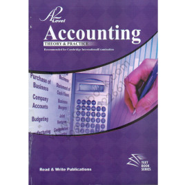 A2 Level Accounting Theory & Practical By Muhammad Nauman Malik
