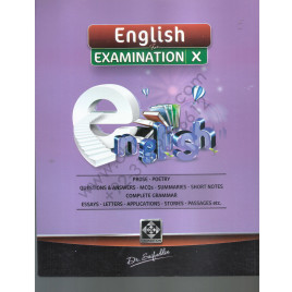 English For Examination X By Dr. Saifuddin