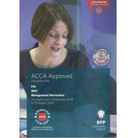ACCA FIA MA1 Management Information Study Text 2015 2016 BPP