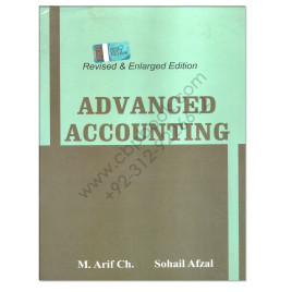 Advanced Accounting For BCom Part 2 By M Arif and Sohail Afzal