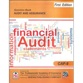 CA CAF 9 Audit and Assurance Question Bank PAC 1st Edition