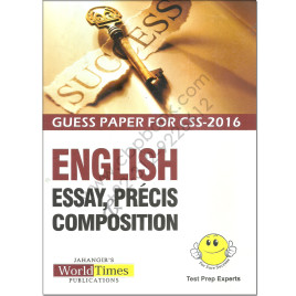 Guess Paper For CSS 2016 English By Jahangir World Times