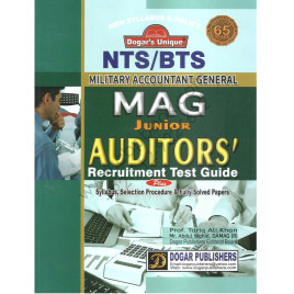 Military Accountant General Junior Auditors Recruitment Test Guide Dogar Publisher