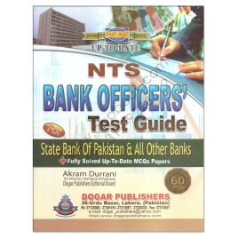 NTS Bank Officers Guide For State Bank Of Pakistan By Akram Durani