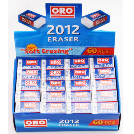 ORO Eraser 2012 Pack of 60