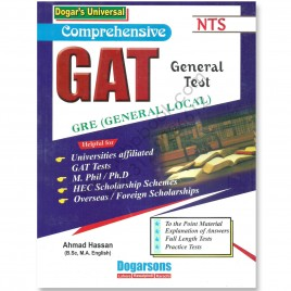 GAT General Test GRE (General Local) By Ahmad Hassan Dogarsons