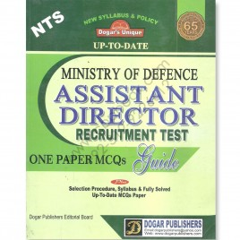Ministry Of Defence Assistant Director Recruitment Guide Dogar Publisher